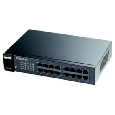 Zyxel Es-1100-16 16 Port 10/100 Yönetilemez resim