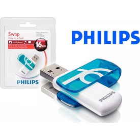 Philips Fm16fd05b 16gb,usb Vivid Rady Boost Flash Bellek