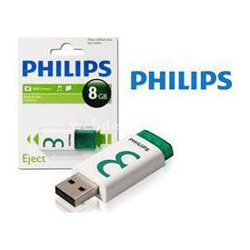 Philips Fm08fd60b 8gb,usb Eject Ready Boost Flash Bellek