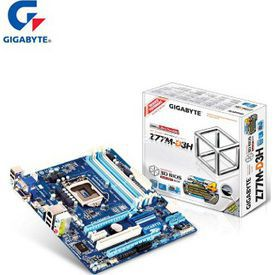 Gigabyte Ga-z77m-d3h, Z77, Lga1155, Ddr3-1600mhz, Anakart