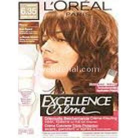 L`oréal Excellence Creme 6.35 ÇİKOLATA KAHVE SAÇ BOYASI resim