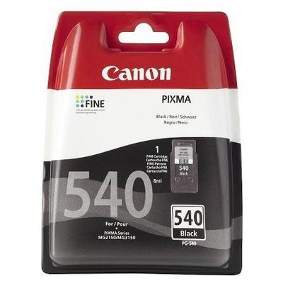 Canon Pg-540 Mg2150 Mg3150 180 Sayfa Siyah Kartuş resim