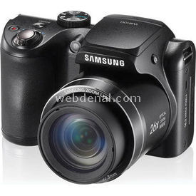 "Samsung WB100 16.1Mp 26x Optik 23,3 mm Ultra Geniş Açı 3.0"" Lcd Dijital Kompakt Siyah resim"