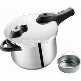 Tefal Secure 5  Düdüklü Tencere-6lt Pişirme Sepet Hediyeli resim