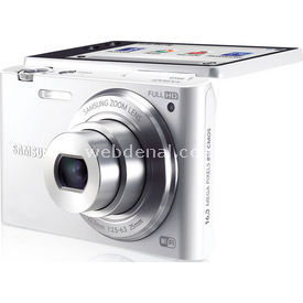 "Samsung Mv900f 16.3mp 5x Optik 3.3"" Wi-fi Full Hd Lcd Dijital Kompakt Beyaz"