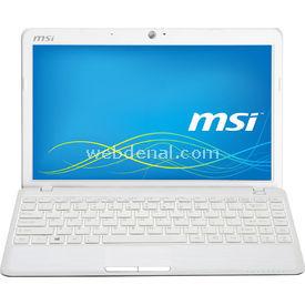 """MSI U270dx-019xtr, Beyaz, Amd C-70, 2gb, 500gb, Hd6290, 11.6"""", Free Dos resim"""