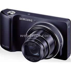 "Samsung Ek-gc100 Galaxy 16.3mp 21x Optik 4.8"" Dokunmatik Full Hd 3g Wi-fi Android 4.1 Kamera Siyah"