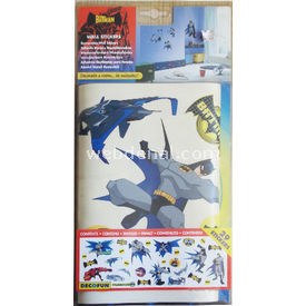 Decofun THE BATMAN WALL STICKERS resim