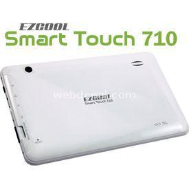 """Ezcool 710 Cortex A8 512 Mb 4 Gb 7"""" Android 4.0 Beyaz resim"""