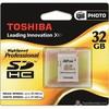 Resim: Toshiba 32 GB SDHC CLASS-10 SD CARD