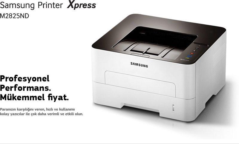 Samsung Printer Xpress M2825ND. Profesyonel performans. Mükemmel fiyat. Paranızın karşılığını veren, hızlı ve kullanımı kolay yazıcılar ile çok daha verimli ve etkili olun.