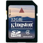 Kingston Kingston 32gb Sdhc Class4 Secure Digital Card