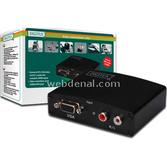 Assmann Digitus Vga Video / Audio <-> Hdmı Video Çeviricisi, 1280x1024 Piksel,