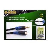 S-link Slx-958 10 Metre 3.5mm Stereo Ses Uzatma Kablosu (m/f)
