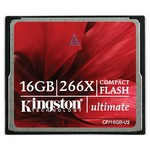Kingston Kingston 16gb Ultimate Compact Flash Card 266x