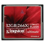 Kingston 32gb Ultimate Compactflash266x W/recovery