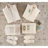 Taç Tekstil Taç Holly Bambu Aile Bornoz Seti