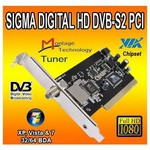 Sigma Dig Sigma-digital-hd Pci,digital Hd,dvb-s2,via Chipset Tv Kartı