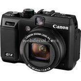 "Canon Powershot G1 X 14.3 Mp 4x Optik 3.0"" Lcd Full Hd Dijital Kompakt Siyah"