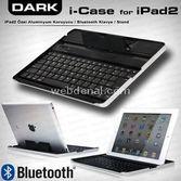 Dark (dk-ac-ıpkb02), Ipad/2 Bluetooth Klavyeli Alüminyum Stand
