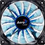 Aerocool Ae-cfsh140b 140mm Shark Mavi Ledli Şeffaf Sessiz Kasa Fanı