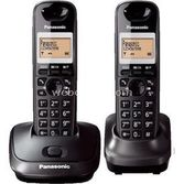 Panasonic Kx Tg2512 Duo Dect Telefon (1+1 El Cihazli) Füme