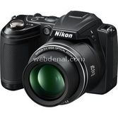 "Nikon Coolpix L310 14mp 21x Optik 3.0"" Lcd 720p Hd Dijital Kompakt Siyah"