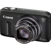 "Canon Powershot Sx260 12.1 Mp 20x Optik Zoom 3"" Lcd Full Hd Gps Digital Kompakt"