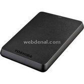 "Toshiba Hdtb110ek3ba Stor.e Basics 1tb 2.5"" Usb3.0/2.0 Taşınabilir Disk Siyah"
