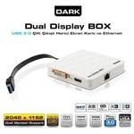Dark Dk-ac-uga30 Hdmı / Dvı+vga Fullhd Usb 3.0 - 2.0 Harici Ekran Kartı + Ethernet