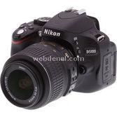 "Nikon D5100 16.2 Mp 3"" Lcd Ekran + 18-55 Mm Vr Lens Kitli Dslr Fotoğraf Makinesi"