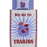 Taç Tekstil Taç Trabzonspor Parlayan Logo Lisanslı Nevresim Takımı