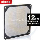 Akasa Ak-grm120-al01-bk 12cm Alüminyum Fan Filtresi