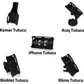Maclove Holder Box Iphone 4/4s Araç Tutucu Kit (siyah)