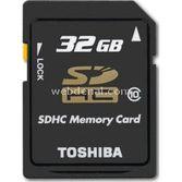 Toshiba 32gb Secure Digital Kart Bellek T032uhs1bl5