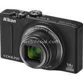Nikon Coolpix S8200 16mp 14x Optik Zoom 3.0 Dijital Kompakt Siyah