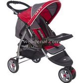 KANZ KZ 715 JOGGER 3 TEKERL BEBEK ARABASI 2013 MODEL - KIRMIZI