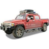 Maisto Hummer H3t 1:24 Model Araba Dirt Riders Kirmizi