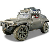 Maisto Hummer Hx Concept 1:18 Model Araba Dirt Riders Yeşil