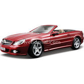 Maisto Mercedes Sl 550 Model Araba 1:18 Special Edition Kirmizi