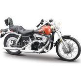 Maisto Harley-davidson 1980 Fxwg Wide Glide 1:18 Maket Kit Motorsiklet