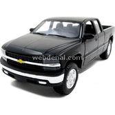 Maisto Chevrolet Silverado 1:24 Model Araba S/e Siyah