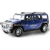 Maisto 2003 Hummer H2 Suv Araba 1:24 Model Araba S/e Mavi
