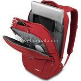 Incase Nylon 17-inç Macbook Pro Sirt Çantasi (gri, Kirmizi)