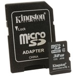 Kingston Sdc4-32gb 32 Gb, Secure Dijital High Capacity Micro Kart
