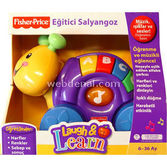 Fisher Price Eğitici Salyangoz