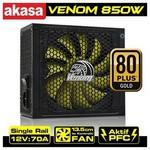 Akasa Venom Xt (ak-pa085am03-eu), 850w, 13.5 Cm Fan, Güç Kaynağı