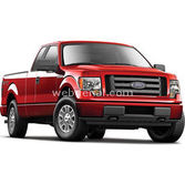 Maisto Ford F-150 2010 Model Araba 1:24 Special Edition Kirmizi
