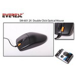Everest Sm-601 Kablolu,usb,3b+1,800 Dpi,optik Mouse,siyah