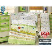 Altınbaşak Gülücük Bebek Uyku Seti - Yeşil
